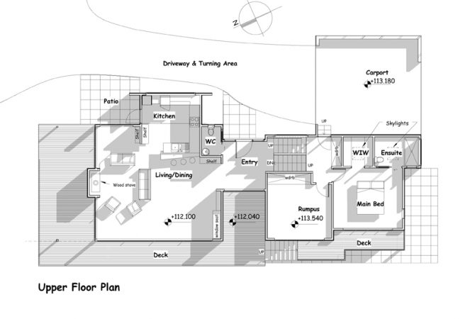 Great Barrier Rd Family Home - floor plans