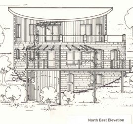 eco earth brick home